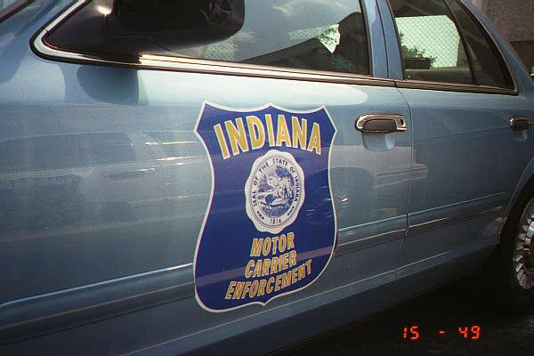 photo in indiana state motor carrier enforcement john